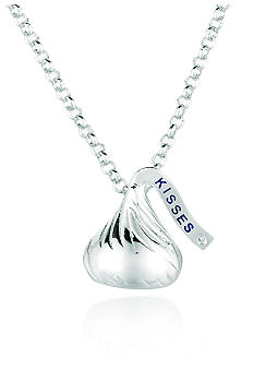 Belk & Co. Sterling Silver Diamond Accent Small Hershey's Kiss Pendant