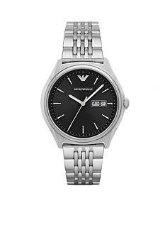 Emporio Armani Men's Zeta Three-Hand Stainless Steel Watch