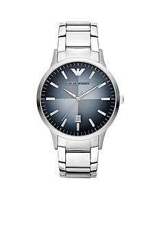 Emporio Armani Men's Stainless Steel Three-Hand Watch