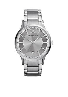 Emporio Armani Men's Stainless Steel Three Hand Watch