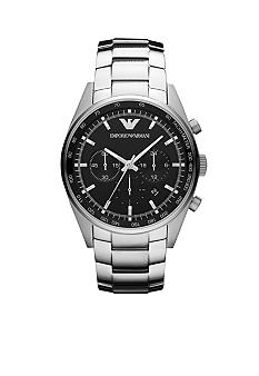 Emporio Armani Men's Sportivo Stainless Steel Chronograph Watch