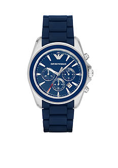 Emporio Armani Men's Sigma Blue Chronograph Watch