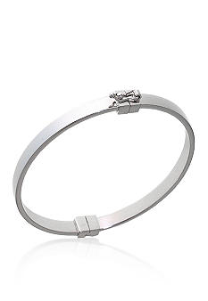 Belk & Co. Sterling Silver Square Hoop Bracelet