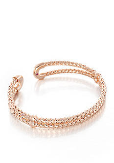 The Fifth Season by Roberto Coin 18k Rose Gold Plated Sterling Silver Cuff