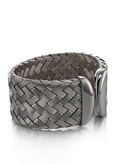 The Fifth Season by Roberto Coin Sterling Silver Medium Woven Cuff