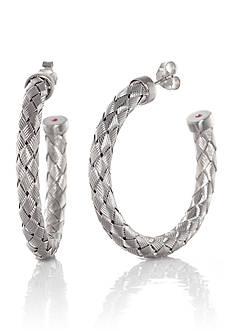The Fifth Season by Roberto Coin Sterling Silver Hoop Earrings