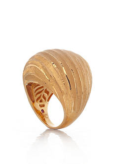 The Fifth Season by Roberto Coin 18k Yellow Gold Plated Sterling Silver Dome Ring