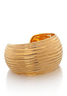 The Fifth Season by Roberto Coin 18k Yellow Gold Plated Sterling Silver Cuff