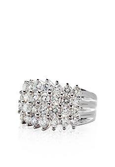 Belk & Co. Diamond Pyramid Ring