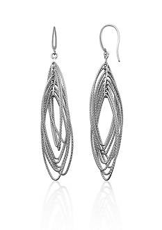 Charles Garnier Sterling Silver Earrings