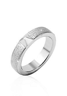 Charles Garnier Sterling Silver Pyramid Ring