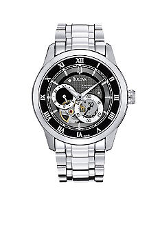 Bulova Silver Automatic Watch