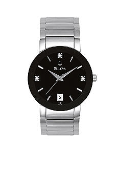 Bulova Diamond Dial Watch