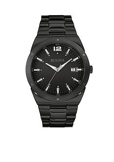 Bulova Black Dial Bracelet Watch