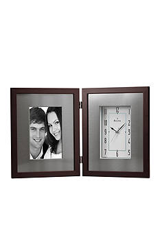 Bulova Windfield Picture Frame Clock