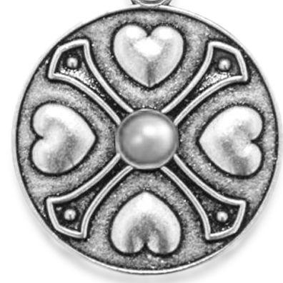 Charm Bracelets: Silver-Tone Angelica June Birthstone Expandable Bangle