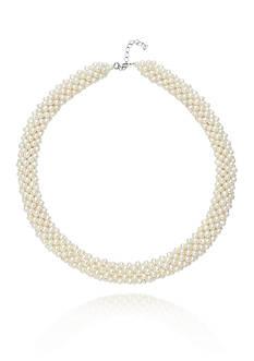 Belk & Co. Sterling Silver Freshwater Pearl Necklace