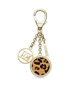 Escada Gold Plated Key Ring