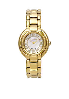 Escada Ivory Collection Ion Gold Plated Watch