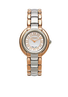 Escada Ivory Collection Stainless Steel Rose Gold Watch