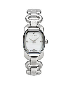 Escada Charlene Collection Stainless Steel Diamond Marker Watch