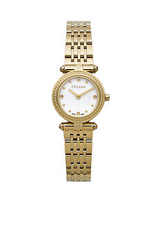Escada Vanessa Collection Ion Gold Plated Mother of Pearl Watch