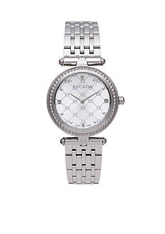 Escada Vanessa Collection Stainless Steel Case Watch