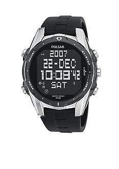 Pulsar Men's Digital Chronograph World Time Watch