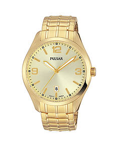 Pulsar Men's Gold-Tone Expansion Watch