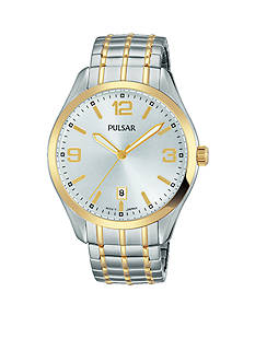 Pulsar Men's Traditional Expansion Two-Tone Watch