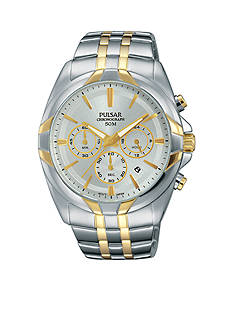 Pulsar Men's Two-Tone Watch