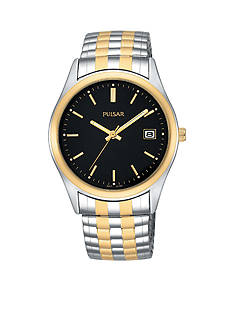 Pulsar Men's Expansion Two-Tone Stainless Steel Watch