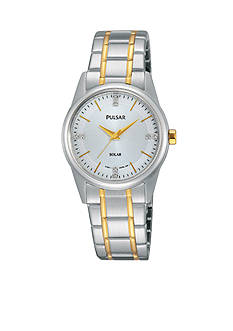 Pulsar Women's Two-Tone Solar Expansion Watch