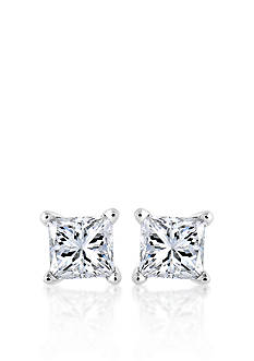 Belk & Co. Diamond Stud Earrings in 14k White Gold
