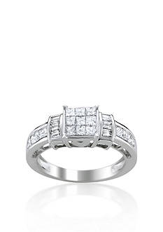 Belk & Co. 1.33 ct. t.w. Diamond Engagement Ring in 14k White Gold
