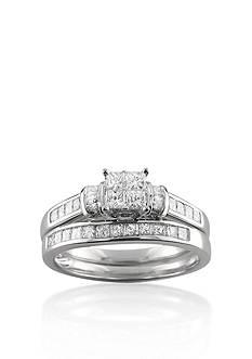 Belk & Co. 1 ct. t.w. Diamond Bridal Set Ring in 14k White Gold