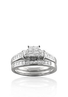 Belk & Co. 1 ct. t.w. Diamond Bridal Set Ring in 14k White Gold