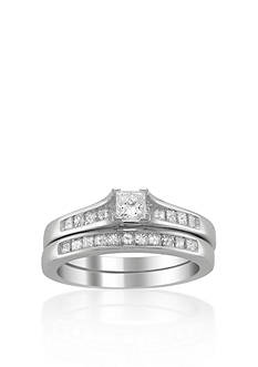 Belk & Co. 7/8 ct. t.w. Diamond Bridal Ring Set in 14k White Gold