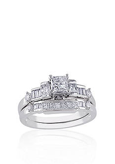 Belk & Co. Diamond Bridal Set in 14k White Gold