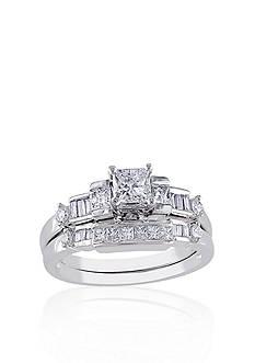 Belk & Co. Diamond Bridal Set in 14k White Gold