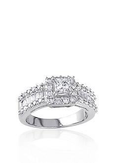 Belk & Co. 1 3/8 ct. t.w. Diamond Engagement Ring in 14k White Gold