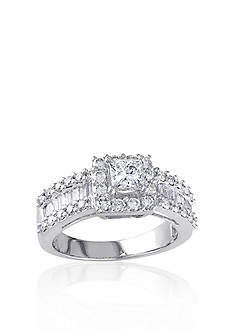 Belk & Co. 1 3/8 ct. t.w. Diamond Engagement Ring in 14k White Gold