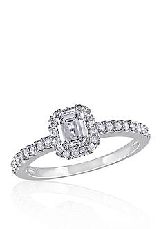 Belk & Co. 3/4 ct. t.w. Diamond Engagement Ring in 14k White Gold