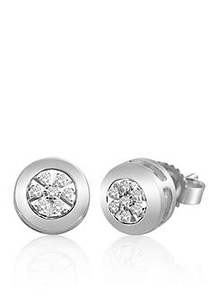 Belk & Co. Diamond Fashion set in Sterling Silver Earrings