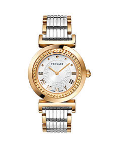 Versace Women's Vanity Two-Tone Watch