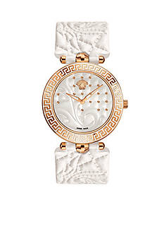Versace Women's Vanitas White Watch