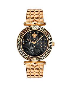 Versace Women's Vanitas Rose Gold-Tone Watch