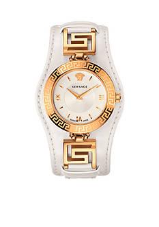 Versace Women's V-Signature White Watch