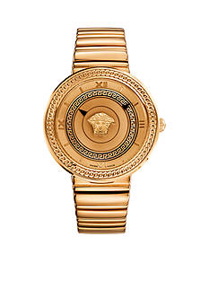 Versace Icon Rose Gold-Tone Watch