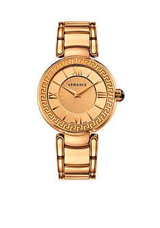 Versace Women's Leda Rose Gold-Tone Watch